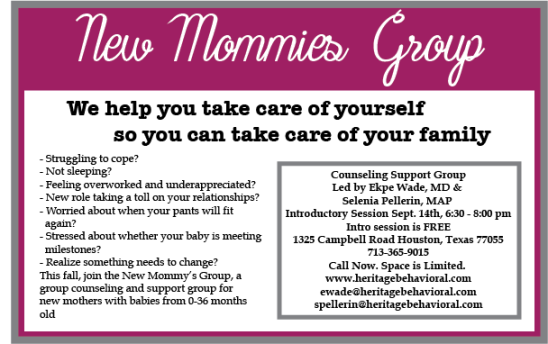 New Mommies Group Ad